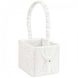 Lace Bridesmaid Basket - 13 x 11 x 11cm